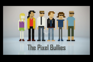The Pixle Bullies logo